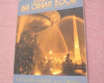 Vintage 1962 Chappell's Big Organ Book 75 Worldwide Favorites for all Organs It's De-Lovely My Funny Valentine Blueberry Hill Where or When