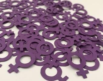 Female Symbol Confetti