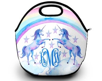Personalized Unicorn Lunch Box | Monogrammed | Lunch Box | Monogrammed Gift