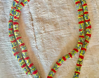 Venetian antique trade beads Millefiore Africa trade beads