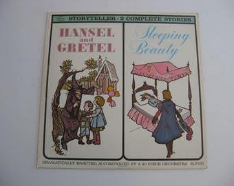 Storyteller - Hansel and Gretel - Sleeping Beauty - Circa 1960's