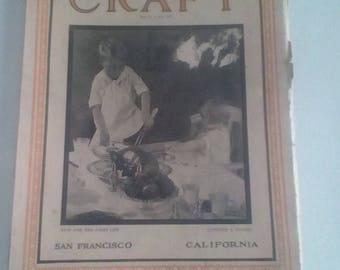 1927 Camera Craft magazine.