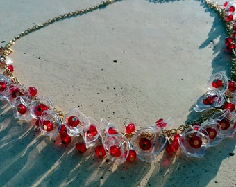necklace Crystal Love