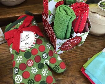 Christmas Kitchen Gift Set