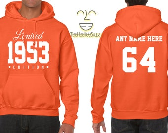 1953 Limited Edition B-day Hoodie 64th Birthday Gift Cool hipster swag mens womens ladies hooded sweatshirt sweater Unisex