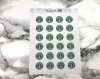 Starbucks coffee Planner sticker