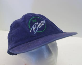 PM Blues hat cap 90s snapback