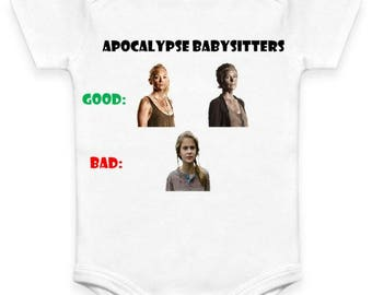 Apocalypse Babysitters - The Walking Dead - Baby Clothes