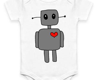 Robot Baby Clothes