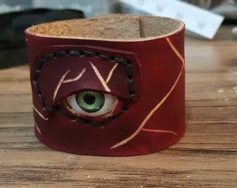 The watchful eye cuff