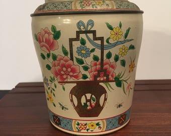Vintage Baret Ware Tin