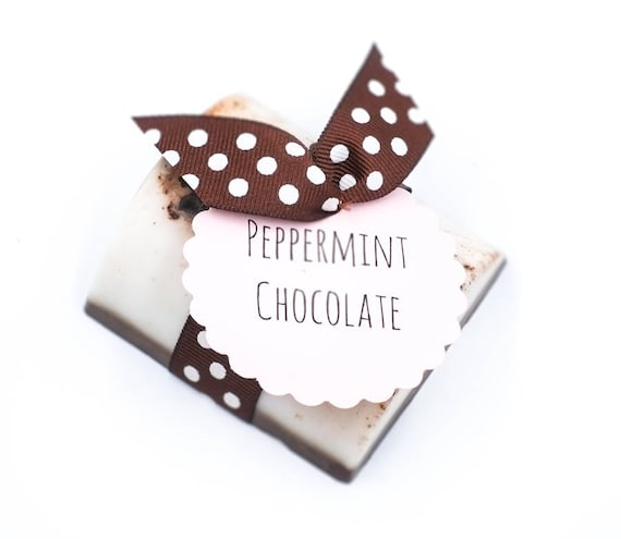 "Peppermint Chocolate ""Brownie"" Bar 