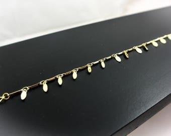Gold Sequins bracelet