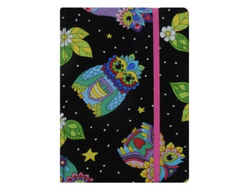 Kindle Voyage Cover, Kindle Voyage Case, Kindle Case, Kindle Cover Hardcover Kindle Fire HD 6 7 8 Case Amazon Fire HD 6 7 8 Owls Pink Floral