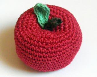 Apple - crochet toy - dinette