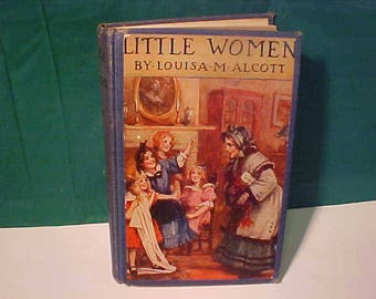 Child's Library  Book Little Women by Louisa. M. Alcott  Illustrated by Frances Brundage  HB 1929