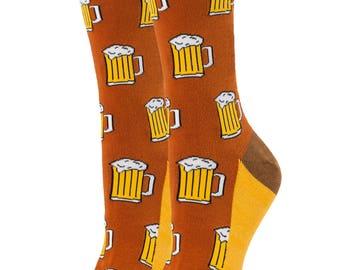 Beer Socks ! / Cool Socks  / Funny socks / Oooh Yeah Socks /