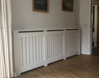 Stripes  Radiator Cover Made To Measure
