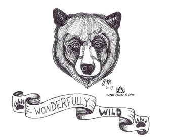 Wonderfully Wild Postcards