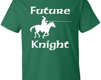 Men's Future Knight Scoop Neck T-shirt