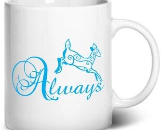 Always Coffee Mug, 11oz, White