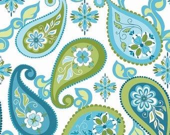 WINTER SEW SALE Splendor Paisley Fabric by Lila Tueller for Riley Blake