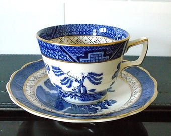 Royal Doulton Booths Real Old Willow Cup & Saucer