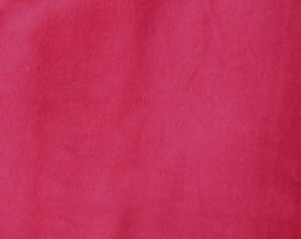 Fabric - Stretch needlecord -  cherry red - woven fabric with stretch.