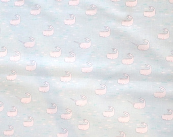 Fabric - Michael Miller - Finding the Narwhal - medium weight woven cotton fabric.