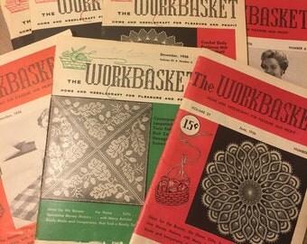 Vintage The Workbasket Magazine