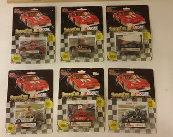 Vintage Nascar Racing Champions Stock Cars 1:64 scale collectible cars, 1991