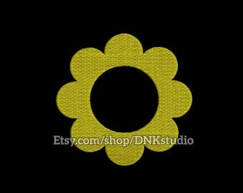 Sunflower Embroidery Design - 6 Sizes - INSTANT DOWNLOAD