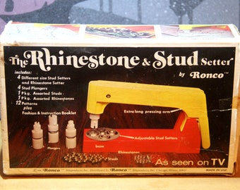 Vintage Originals Ronco Rhinestone and Stud Setter (1974)