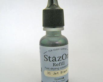 StAz On Solvent Based Ink #31 Jet Black Destash