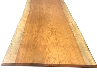 Live edge dining Table, Brazilian cherry Dining Table, Table in Custom Size