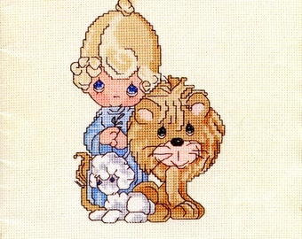 Precious Moments cross stitch - Peace On Earth (PM-4) from Designs by Gloria & Pat | Craft Book
