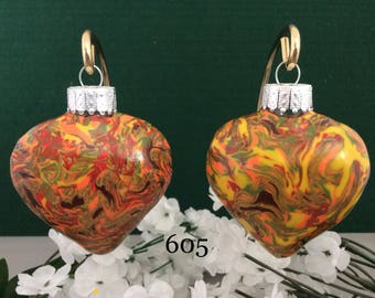 Christmas Ornaments - Set of two (605)