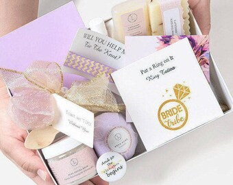 3 Bridesmaid Proposal Boxes includes all 10 items - Will You Be My Bridesmaid Box Bridesmaid Proposal Gift Will You Be My Bridesmaid Gift
