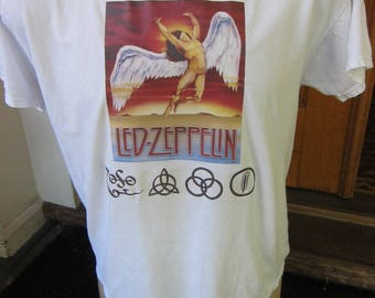 Size L (46) ** Led Zeppelin Shirt (Double Sided)