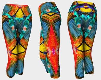 06170 Yoga Capri: Under the Bridge Photography. Yoga Leggings, Yoga Tights, Running Tights, Yoga Pants, Leggings