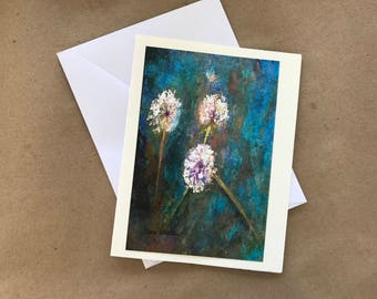 Dandelion Note Card II