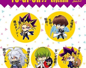 Yu-Gi-Oh!Duel Monster The movie Transparent Acrylic Keychain Charms