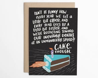 Cake Though.
