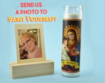 THE MOTHER - Customized Prayer Candle - Novena Candle - Mother's Day Funny Gift - Devotional Mother Candle - Gift for Mom - Saint Mom