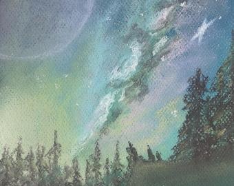 Smoke Signals - Art Print