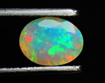60% OFF - Natural Opal Oval Cut Stone 9x7x5 mm Ethiopian Opal Gems Fire Opal Opal (GPO-60)