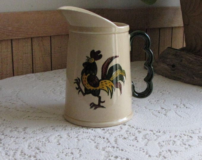Metlox PoppyTrail California Provincial Pitcher Ewer Vintage Dinnerware Vernon California Pottery 1956-1982
