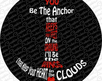 You be the Anchor Spare Tire Cover Pick your Colors!
