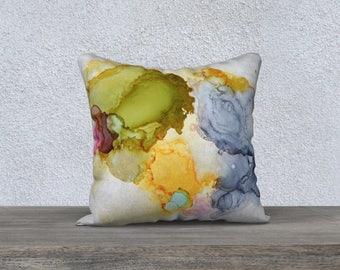 """18 x 18"""" Pillow case - Flow"""