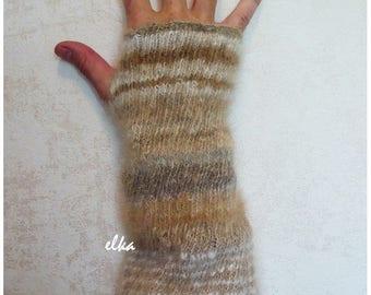 Sleeves of dog hair / Нарукавники из шерсти собаки